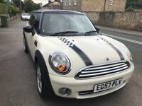 2007 Mini Cooper 1.6, two new tyres, low mileage, 2 keys, service history