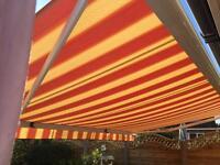 Somfy sun canopy