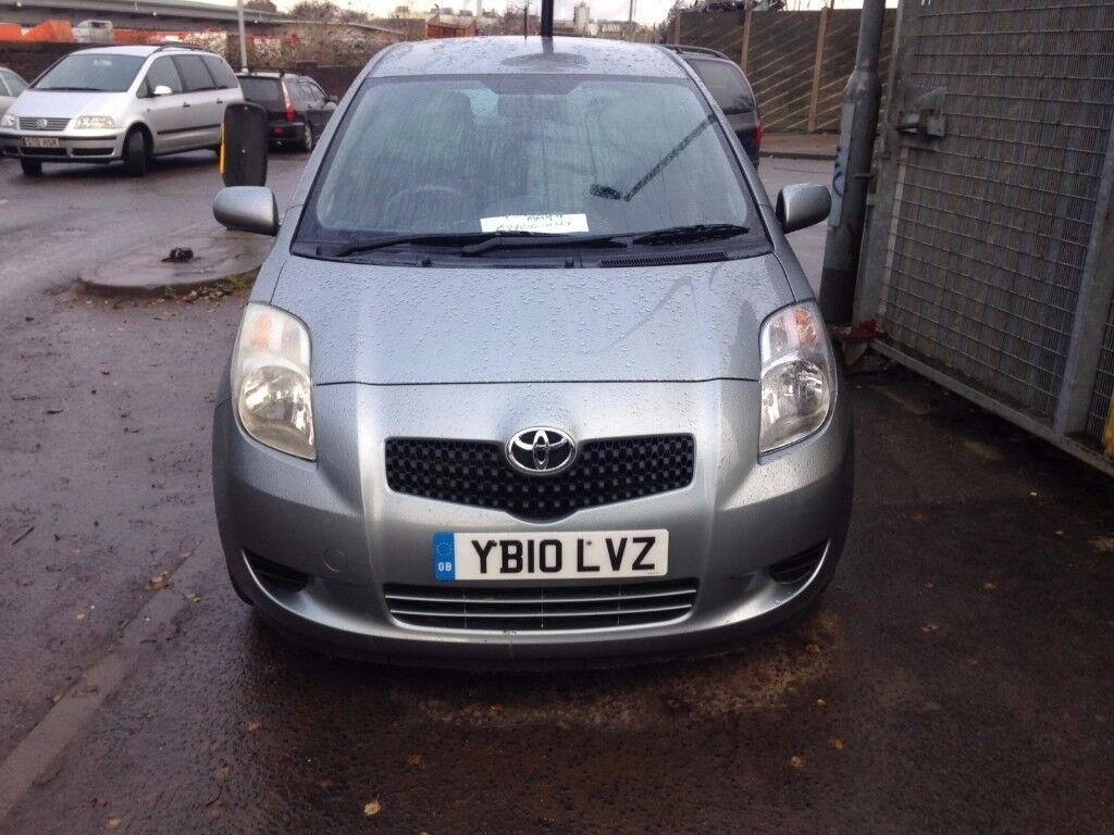 Toyota Yaris 1.4D-4D 77K 2010 TR DIESEL £30 A YEAR TAX MOT TILL MAY 2018 PREVIOUS LADY OWNER