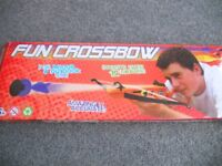 KIDS/FAMILY TOY/GAME PETON FUN CROSSBOW INDOOR/OUTDOOR