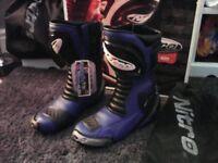 motorbike boots new size 42