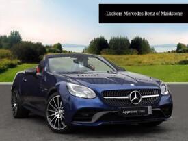 Mercedes-Benz SLC SLC 250 D AMG LINE (blue) 2016-07-18