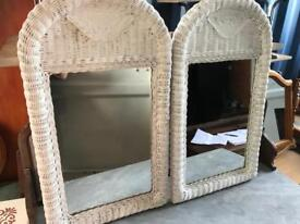 Pair wicket mirrors FREE DELIVERY PLYMOUTH AREA