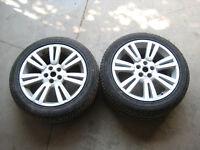 Range Rover Alloy Wheels Slighty Damaged