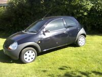FORD KA 1-3 2006. ROYAL BLUE 65,000 MILES WITH SERVICE HISTORY. 2 PREVIOUS LADY OWNERS 12 MONTHS MOT