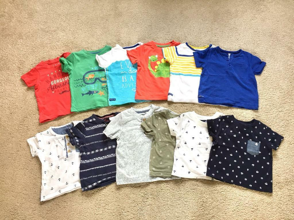 e58ffc666db7 Bundle of boys T-shirts 9-12 Months | in Plymouth, Devon | Gumtree