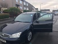 Ford mondeo in black