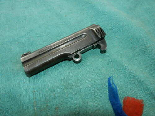 This .32 Cal. Steyr model 1908 has a TIP UP barrel