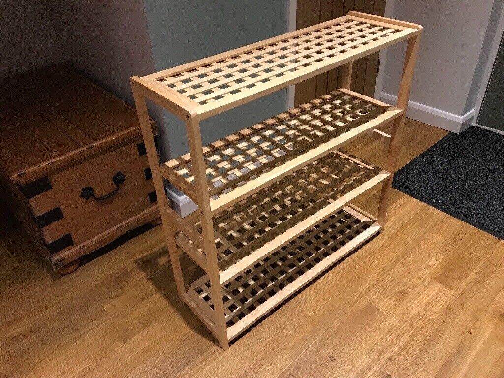 4 shelf shoe rack for sale