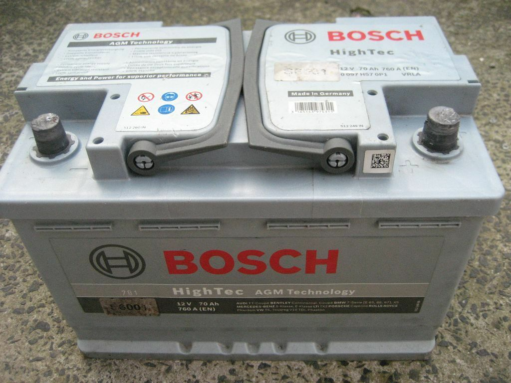 heavy duty bosch s6001 12 volt car battery agm 70 ah 760 amp agm technology in newcastle tyne. Black Bedroom Furniture Sets. Home Design Ideas