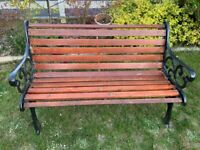 Cast Ended Garden Double Bench Seat