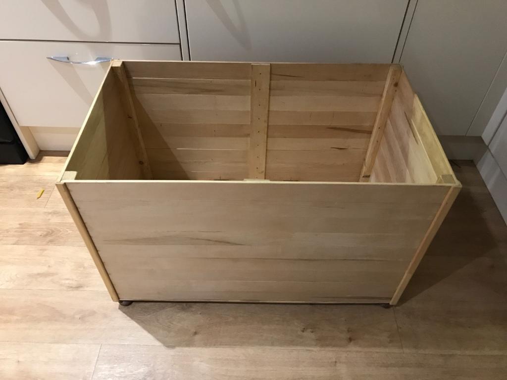 Homemade Wooden Toy Box In Long Eaton Nottinghamshire Gumtree