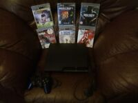 Slimline ps3 with games