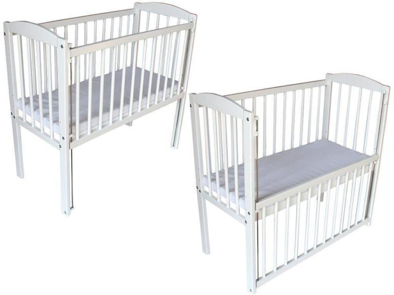 beistellbett wei ebay. Black Bedroom Furniture Sets. Home Design Ideas
