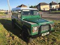 2000 Land Rover defender 110 td5 alloys