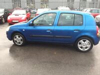 2005 RENAULT CLIO 1.5 DIESEL WITH LONG MOT IN GREAT CONDITION