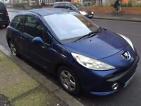 CAT D: BLUE PEUGEOT 207 .. WILL SWAP FOR NICE QUAD OR MOUNTAIN BIKE
