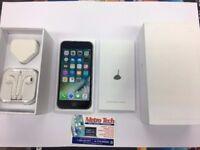 IPHONE 6 BLACK/ VISIT MY SHOP/ PERFECT GIFT / UNLOCKED / 64 GB/ GRADE B / WARRANTY