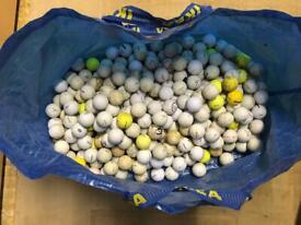 Golf Balls - various 100's