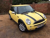 2003 53 MINI ONE 1.4 D (6 SPEED) YELLOW **PRIVATE PLATE** 65 MPG A MUST SEE! PX?