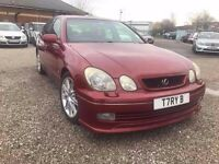 2001 Lexus GS 300 3.0 Sport 4dr FULL LEATHER+SUNROOF