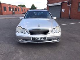 Mercedes C200 diesel 2004 auto top Condition with mot