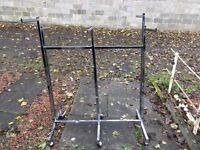 6 way hanging rail