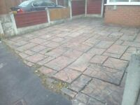 GPM patios designed, flagging, block paving & fencing