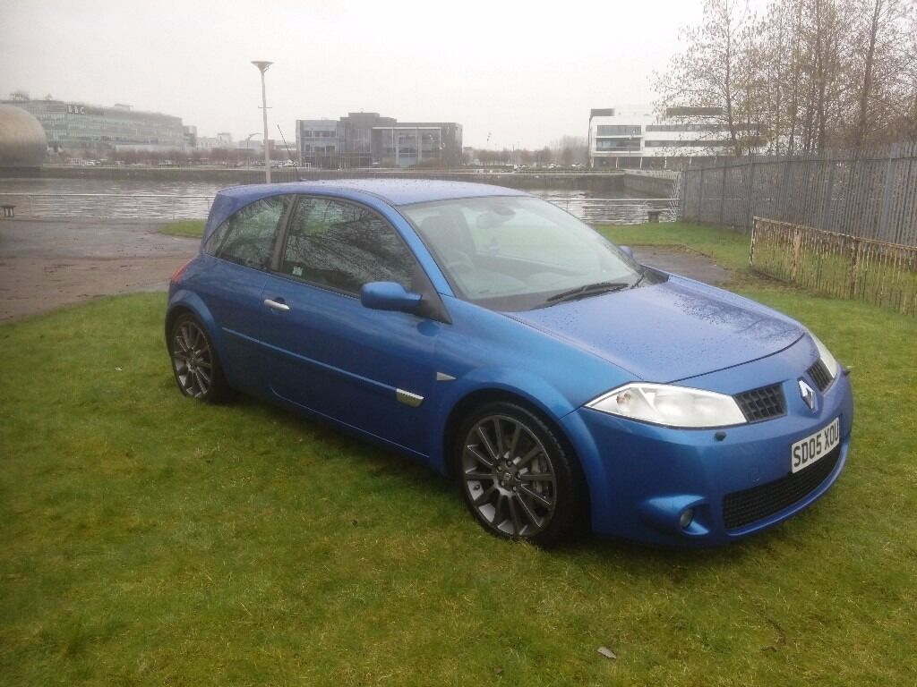 2005 renault megane sport 225 low mileage in clydebank. Black Bedroom Furniture Sets. Home Design Ideas