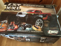 Two NEW Losi LST XXL & Hyper MT HoBao Petrol RC remote control car Nitro electric start RRP £1,200