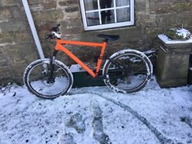 Full suspension mountainbike!!!
