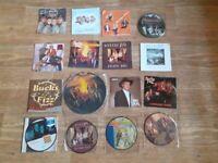 16 x bucks fizz vinyl collection / picture discs