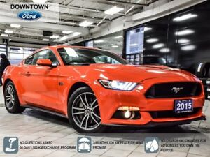 2015 Ford Mustang GT 5.0, Trade-in, Low KM, Back up cam, Car Pro
