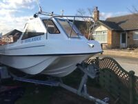 Fishing / Leisure boat Seahog Commodore 18ft Immaculate