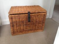 Wicker Basket - Collapsable and Foldable
