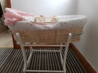 Mosey basket and stand