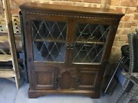 Glass fronted bookcase - Locks of London