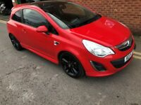 Vauxhall Corsa Limited Edition Red 1.2 Full Service History 12 Months MOT