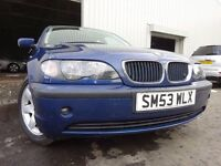 💥 53 BMW 3 SERIES 1.8 MANUAL,MOT DEC 017,2 OWNERS FROM NEW,FULL SERVICE HISTORY,VERY RELIABLE CAR
