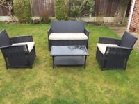 Rattan Style Garden Furniture Set