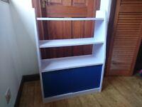 Kids storage book shelf unit