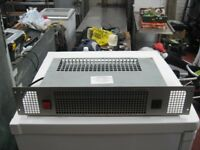 KITCHEN PLINTH ELECTRIC HEATER IN GOOD CONDITION, SPACE SAVER, STAINLESS STEEL