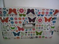 Storage box collapsable - butterfly pattern 30cm x 40cm £2 each