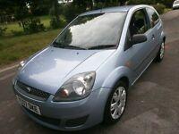 ford fiesta 1.2 zetec three door hatch 07reg facelift model