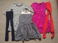 Girls dresses bundle 9-10 age(River Island..)