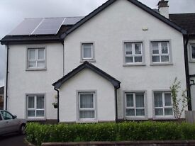 4 Bedroom Semi Detached House for Rent in Knockllyn, Coleraine from 1st of August, Half furnished