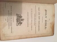 Holy Bible 1849 Old and New Testaments