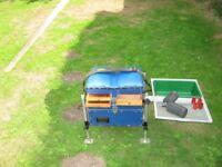 brilo fishing seat box