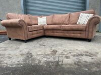 Brown chesterfield dfs corner sofa, couch, suite furniture 🚚🚛🚚