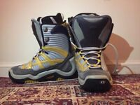.Northwave snowboard boots, used, size UK 9 MP 280.
